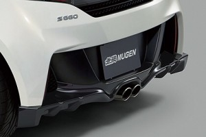 無限S660 リヤアンダースポイラー