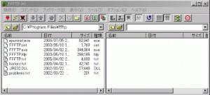 ffftp画面