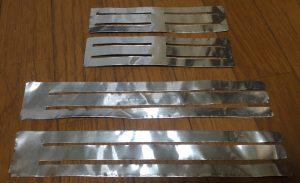 アルミテープチューニング 加工
